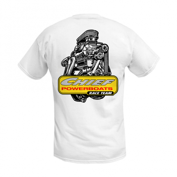 Chief Powerboats - Chief Powerboats PSI Blower Race Team Short Sleeve Graphic T-Shirt