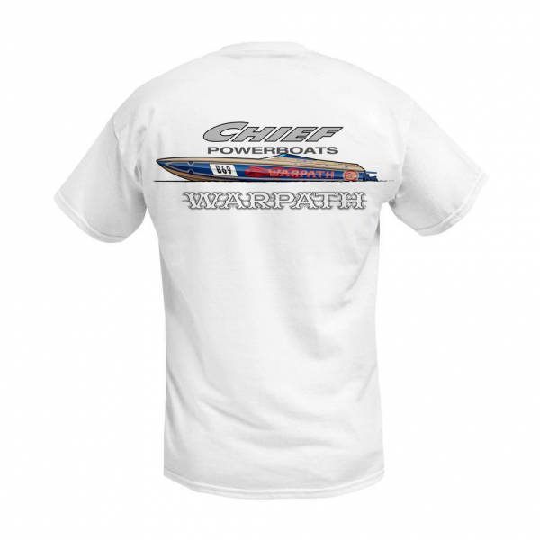 Chief Powerboats - Chief Powerboats Warpath Short Sleeve Performance Graphic T-Shirt