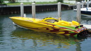 CPB - 1989 41 Apache 3 Pack Race Boat RARE! - Image 6