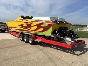 CPB - 1989 41 Apache 3 Pack Race Boat RARE! - Image 10