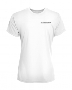 Chief Powerboats - Chief Powerboats Ladies 43 Punisher Short Sleeve Performance Graphic T-Shirt - Image 2