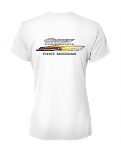 Merch - Chief Powerboats Ladies First Mohican Short Sleeve Performance Graphic T-Shirt