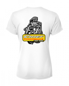 Merch - Chief Powerboats Ladies PSI Blower Race Team Short Sleeve Graphic T-Shirt
