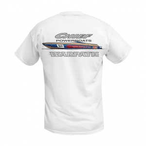 Apparel - Mens - Chief Powerboats - Chief Powerboats Warpath Short Sleeve Performance Graphic T-Shirt