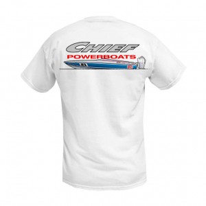 Apparel - Mens - Chief Powerboats - Chief Powerboats 21 Scout Short Sleeve Performance Graphic T-Shirt