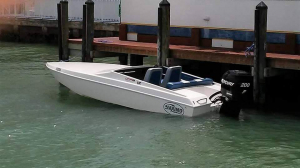 Brokerage - CPB - 2013 21 Scout OB with Mercury Racing Optimax 200 former OPA Class 7Joint Mission