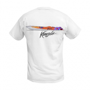 Chief Powerboats - The Infamous 47 Kemosabe Offshore Legend Short Sleeve Performance Graphic T-Shirt - Image 1